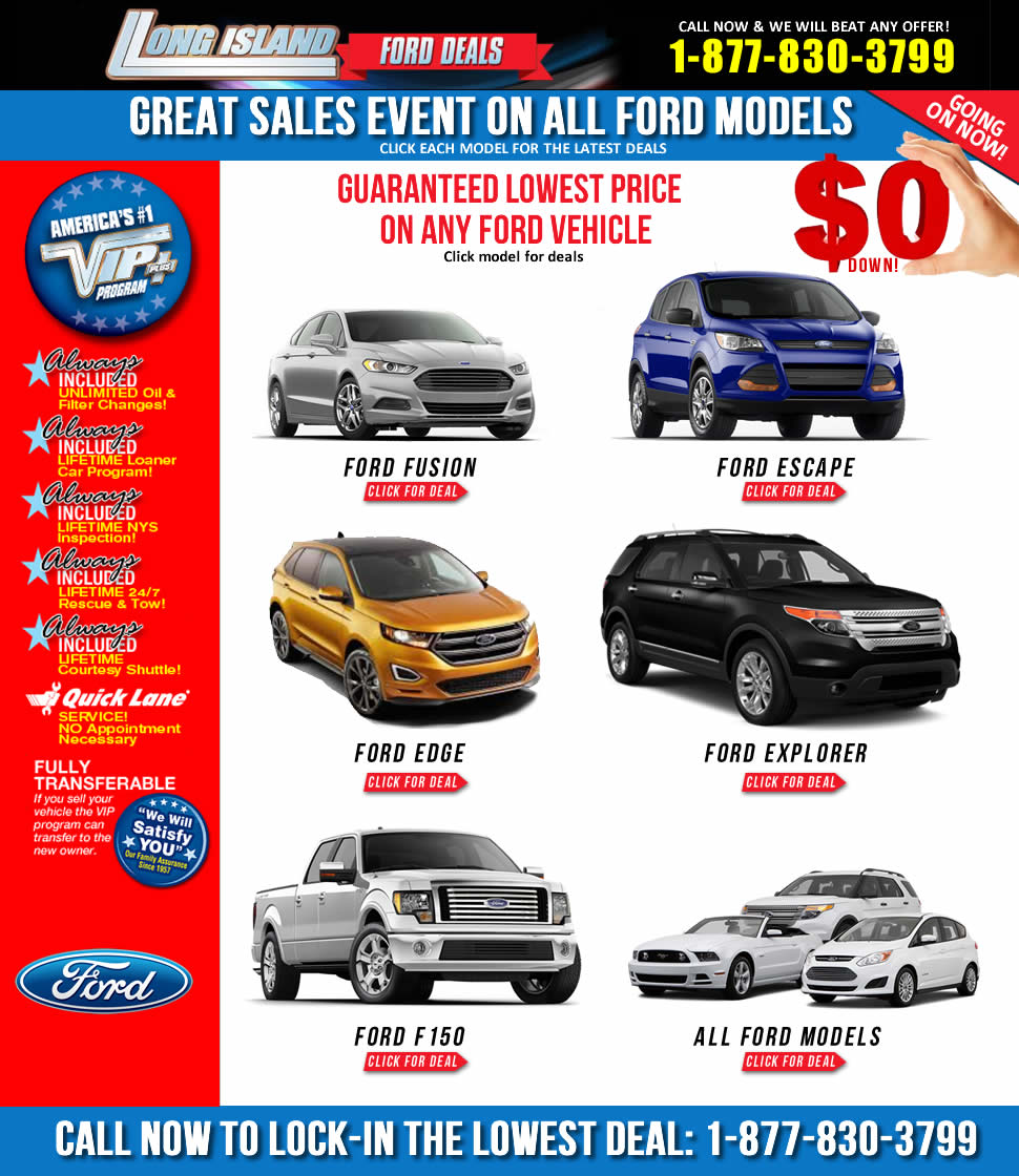 Ford Lease Deals >> Ford Deals Nassau County Long Island Levittown Ford Llc