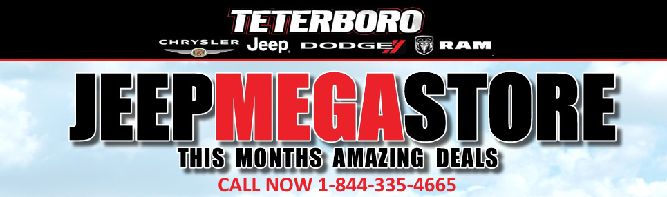 Teterboro Chrysler Jeep Dodge Ram | New Chrysler, Jeep ...